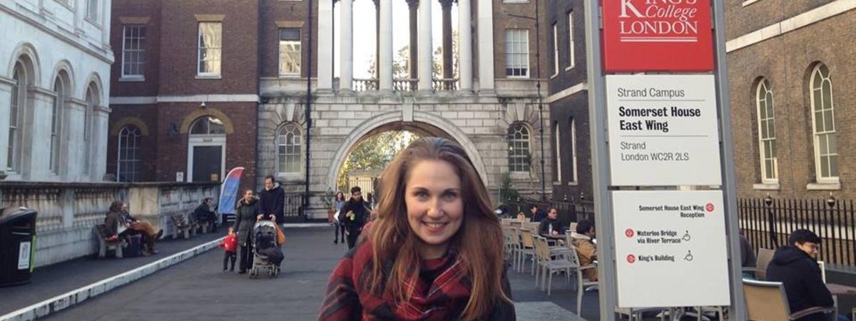 Стипендиат программы «Глобальное образование» о магистратуре в King's College London