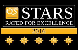 Университет Астон получил 5 звёзд в рейтинге QS