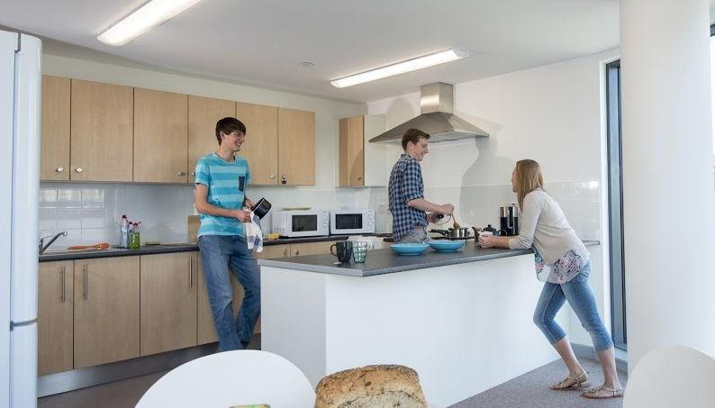 Кухня в резиденции Университета Саутгемптона