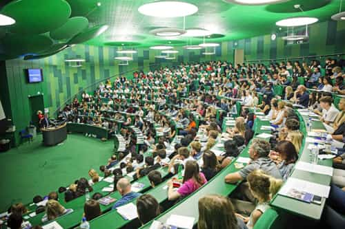 Medical school lecture theatre