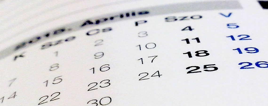 Календарь поступления в вузы США