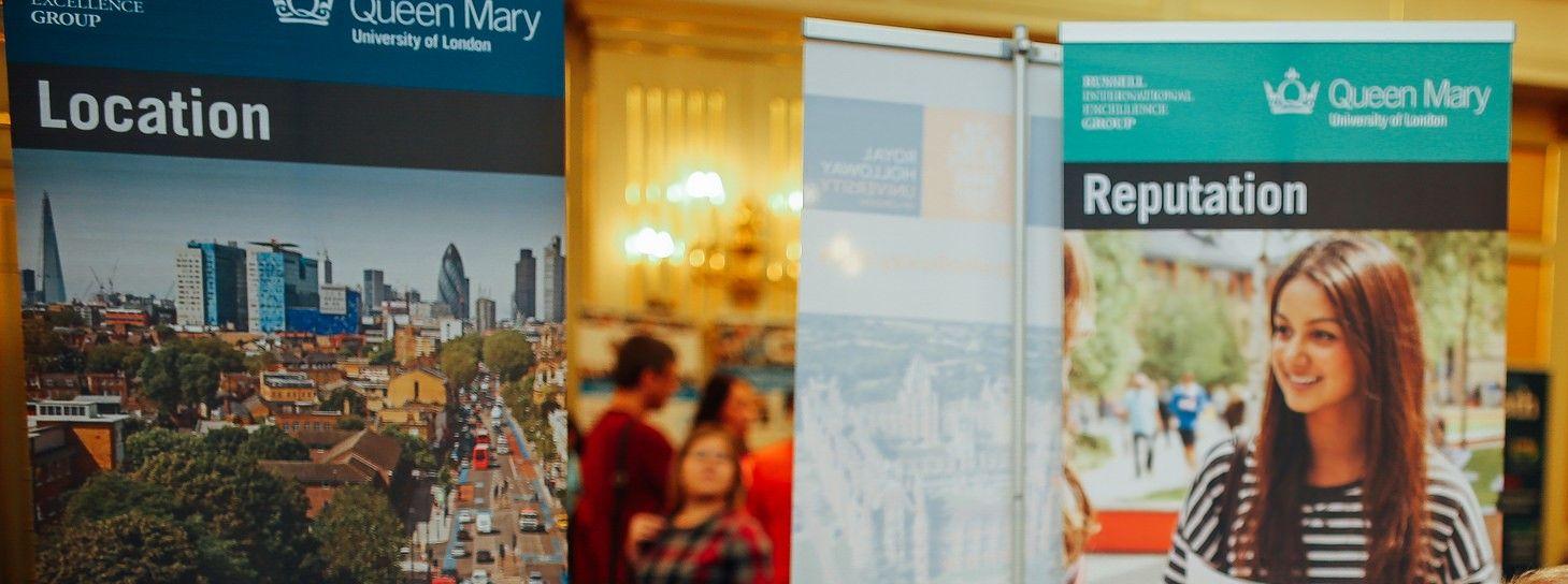 Посетите стенд лондонского Queen Mary University на выставке Британского Совета в Москве!
