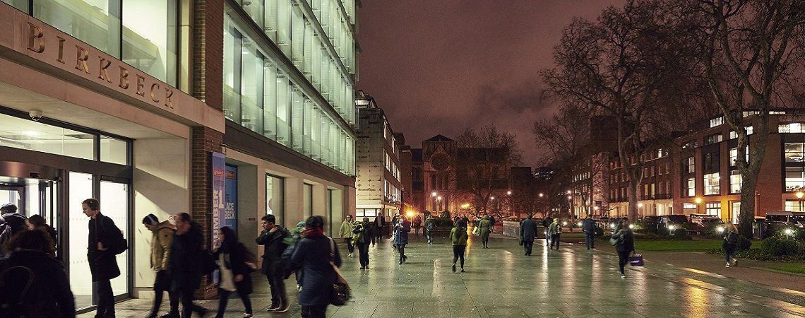 Interview with a student of the University of Birkbeck