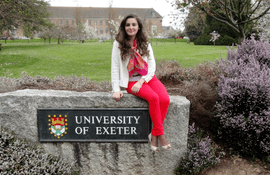 Interview with a graduate of the University of Exeter