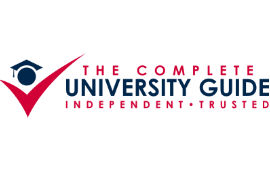 "2014: ranking of UNIVERSITIES in the UK from the ""The Complete University Guide"""