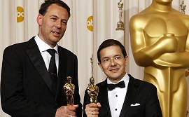 "A graduate of the University of Bristol received the ""Oscar"""