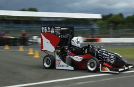 Racing team Cardiff University made history