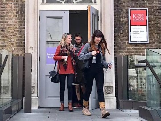 Для King's College London Лондон - это интерактивная школа