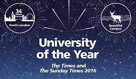 University of Surrey вошел в список лучших университетов мира в 17 предметных областях