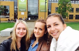 Lisa from Moscow about the job in London and studying in University of Surrey
