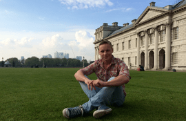 "Interview with Edgar, a student of the program ""international Business"" at the University of Greenwich"