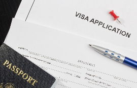 Registration of immigration visas to the UK