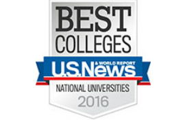 National University rankings (USA) 2016