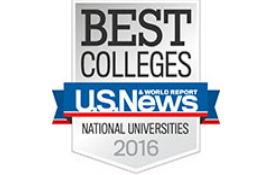 Национальный рейтинг университетов (США) 2016
