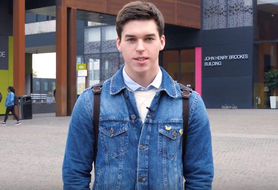 Видео-отзыв второкурсника Oxford Brookes University о вузе, любимых предметах и стажировке