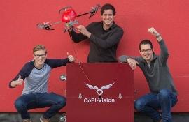 Студенты голландского вуза Inholland разработали дрон для пожарной службы