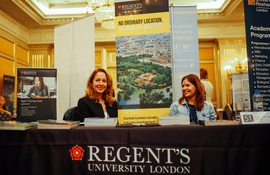 Meeting with the representative of Regent's University London in Moscow