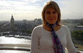 Interview with Irina, student at University of London